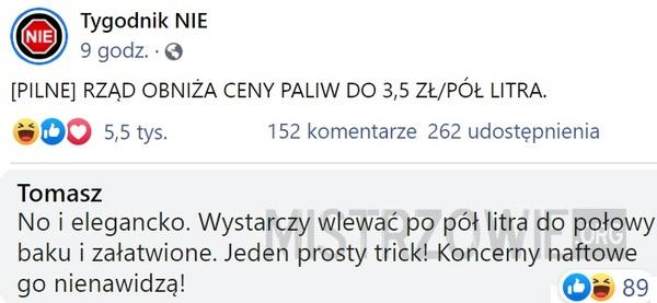 Paliwo –>