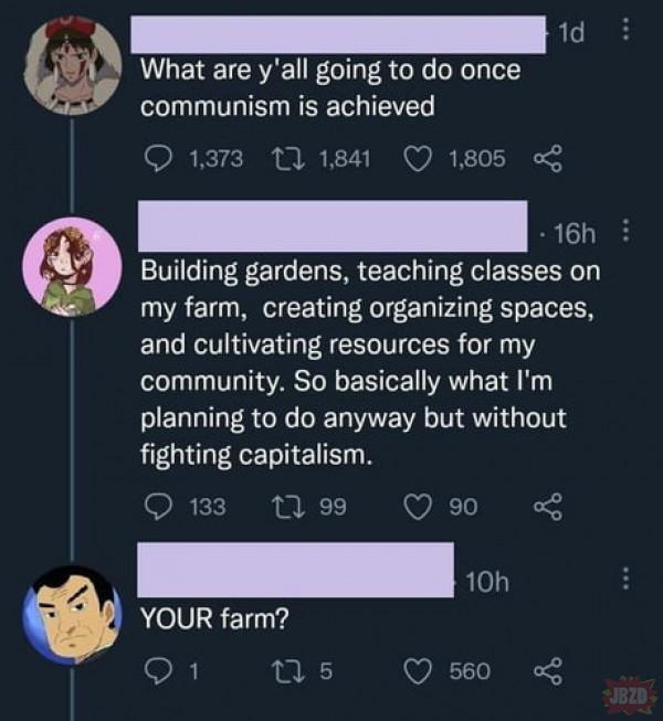 Jak będzie w komunizmie>